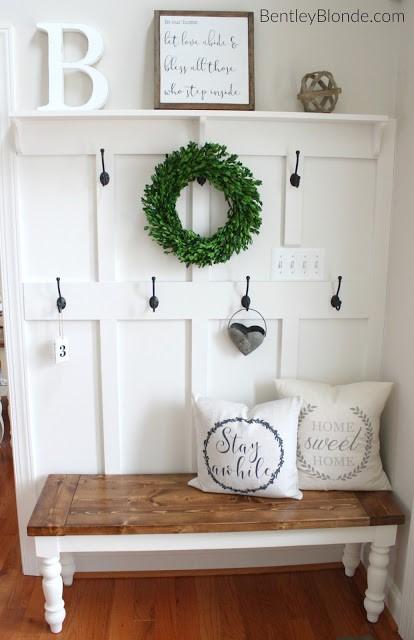 6 DIY Farmhouse Bench Simphome com