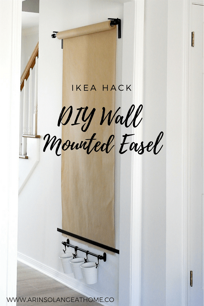 6 DIY Wall Mounted Easel Simphome com