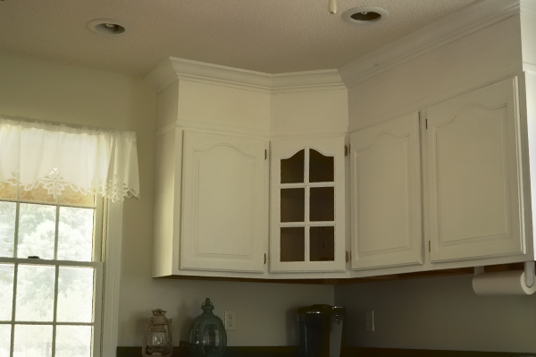 6 Kitchen Cabinet Remodel with Paint and Crown Molding Simphome com jpg