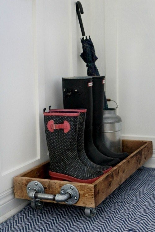 6 Rustic and Portable Shoe Rack Simphome com