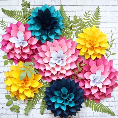 9 DIY Dahlia Paper Flower Simphome com