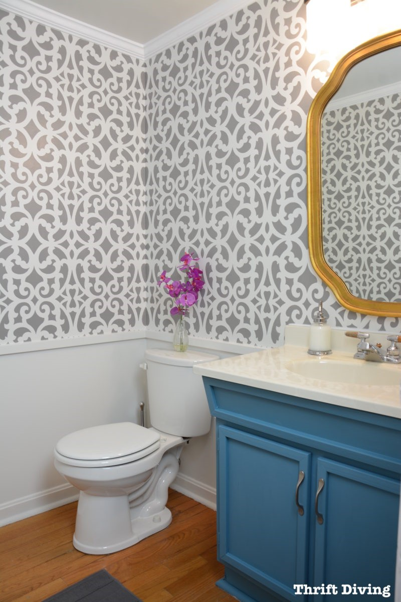 9 Jazz Your Wall Up with Stencil Simphome com