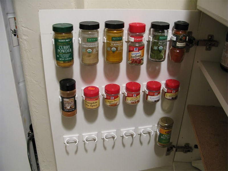 9 Over the Door Spice Rack Simphome com