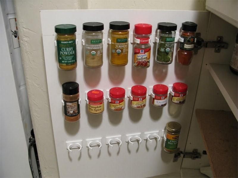 9 Over the Door Spice Rack Simphome com