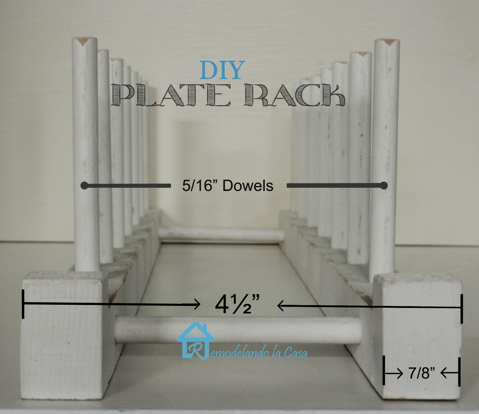DIY Plate Rack_Simphome.com