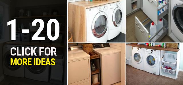 1 20 Small laundry room ideas Thumbnail 1