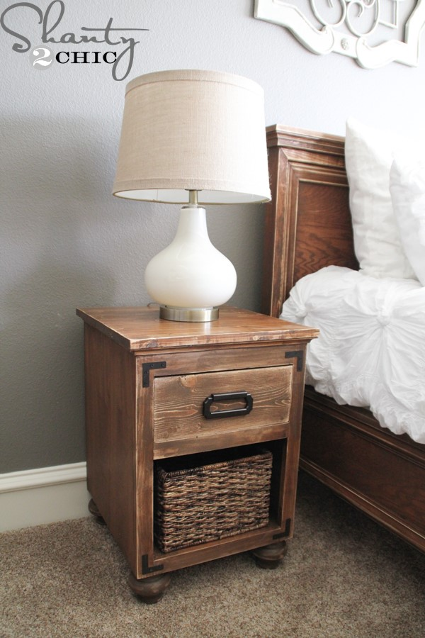 10 DIY Nightstand with Bun Feet Simphome com