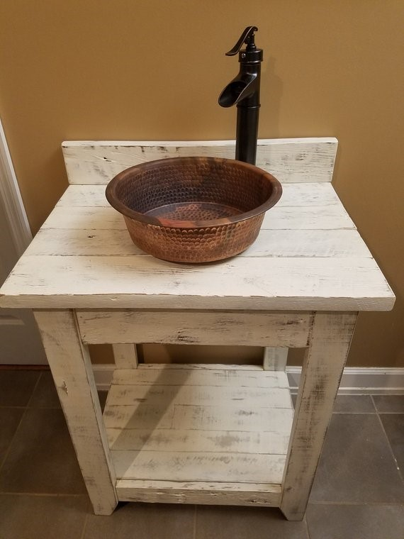 10 Simple Rustic Bathroom Vanity Simphome com