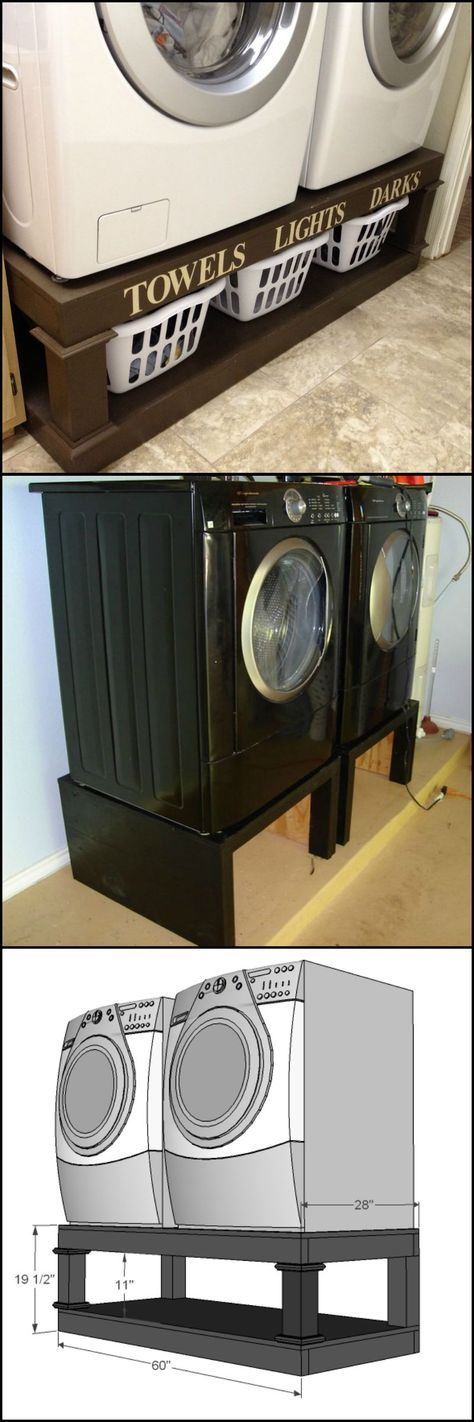 10 Washing Machine and Dryer Pedestal by Diyprojects ideas2live4 Simphome