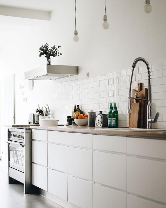 100 Scandanavian white kitchen idea Simphome