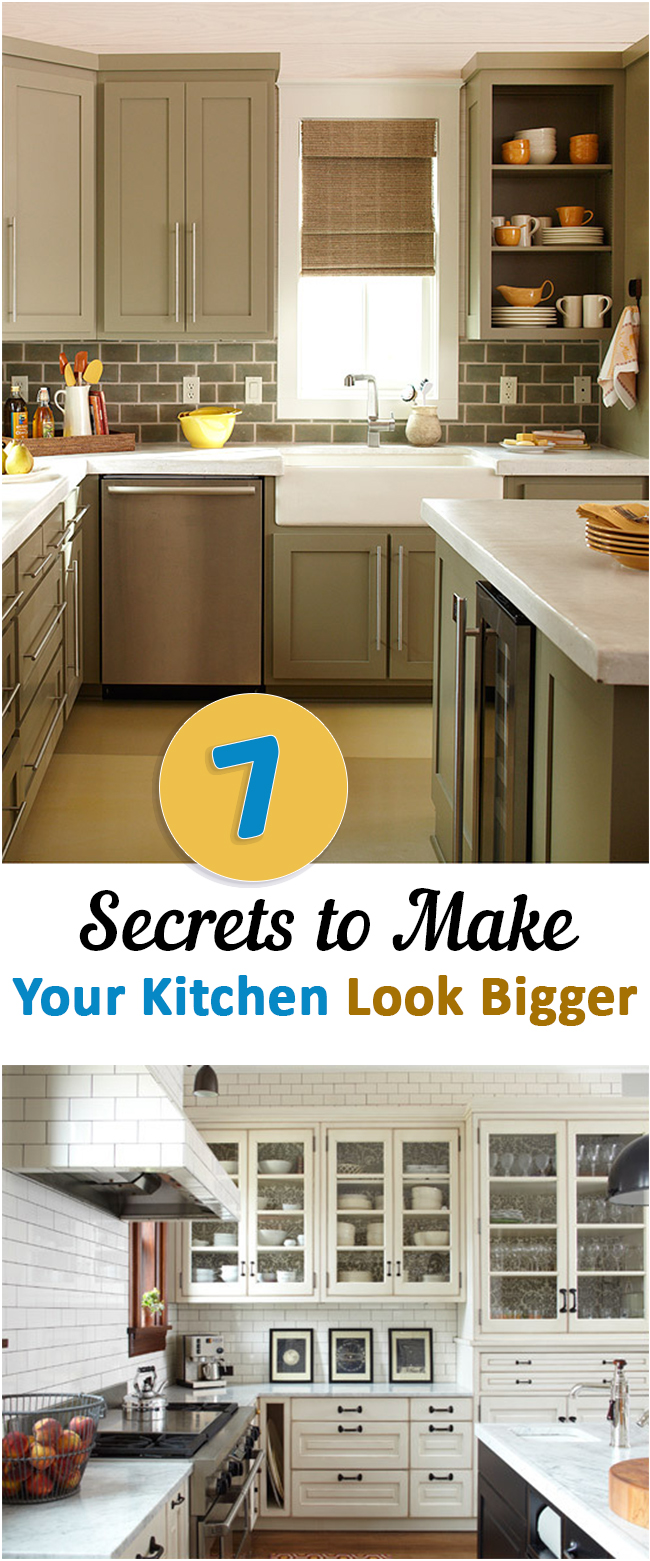 104 5 steps to make your kitchen look bigger Simphome