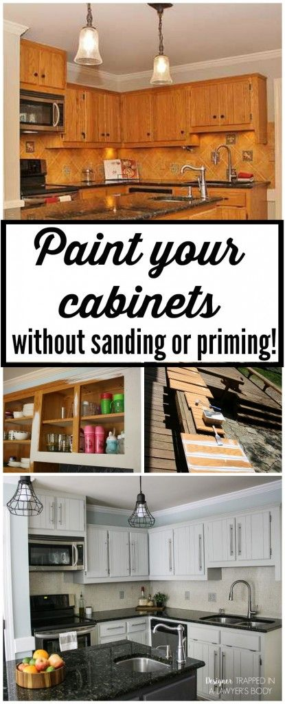 106 Learn how to paint kitchen cabinets without sanding or priming Simphome