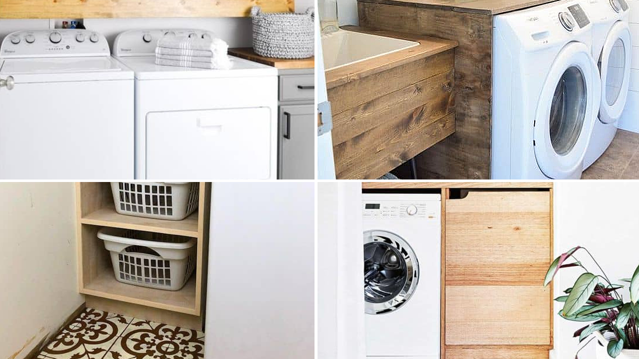 110 Ideas How To Optimize Small Laundry Room And Make It More Stylish Simphome