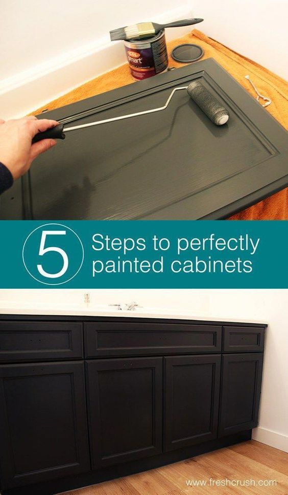 112 5 Easy steps to painting wood cabinets perfectly Simphome
