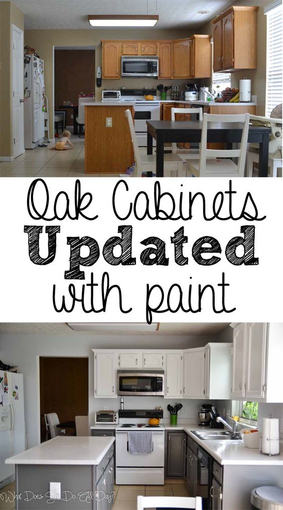 115 Painted Kitchen Cabinets Before and After Simphome