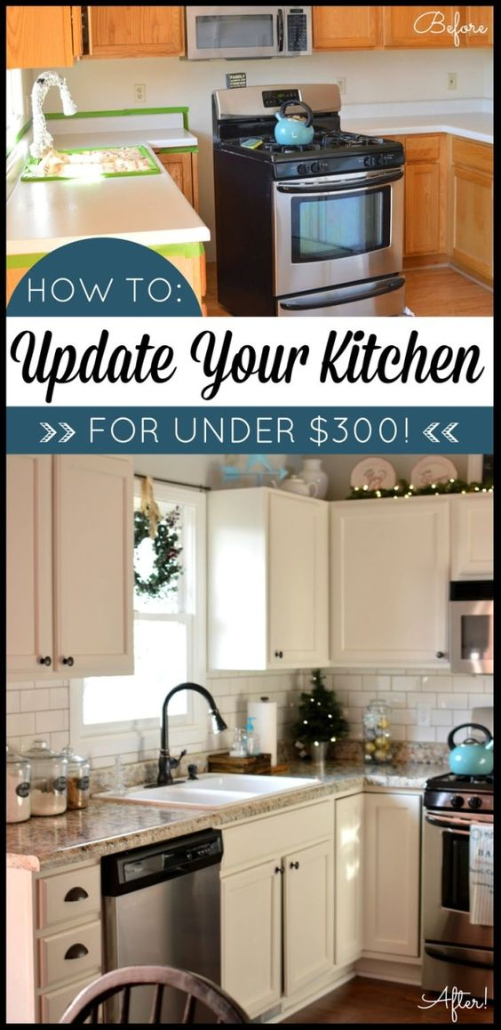 117 Kitchen makeover on a budget Simphome
