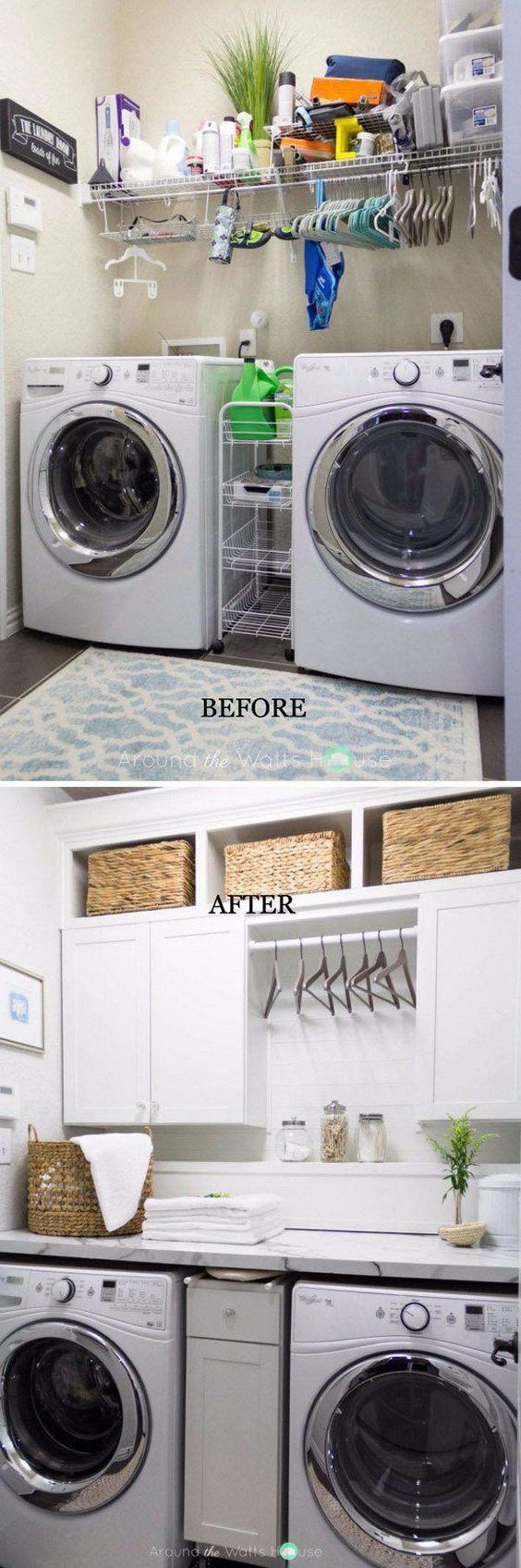 12 Basement Laundry Room ideas for Small Space Makeovers by Simplyfotbal Simphome