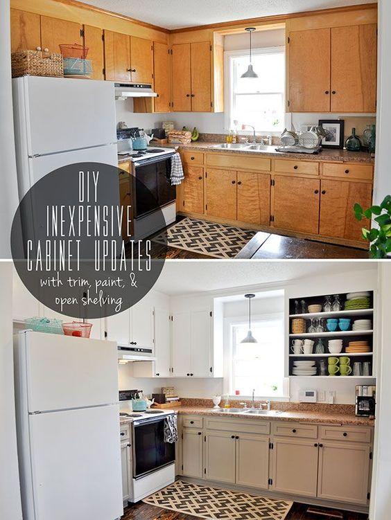 123 36 Inspiring DIY Kitchen Cabinets Simphome