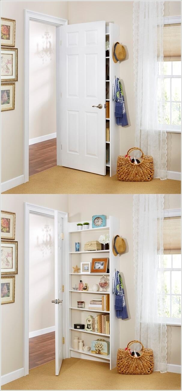 14 Behind the door shelf Simphome