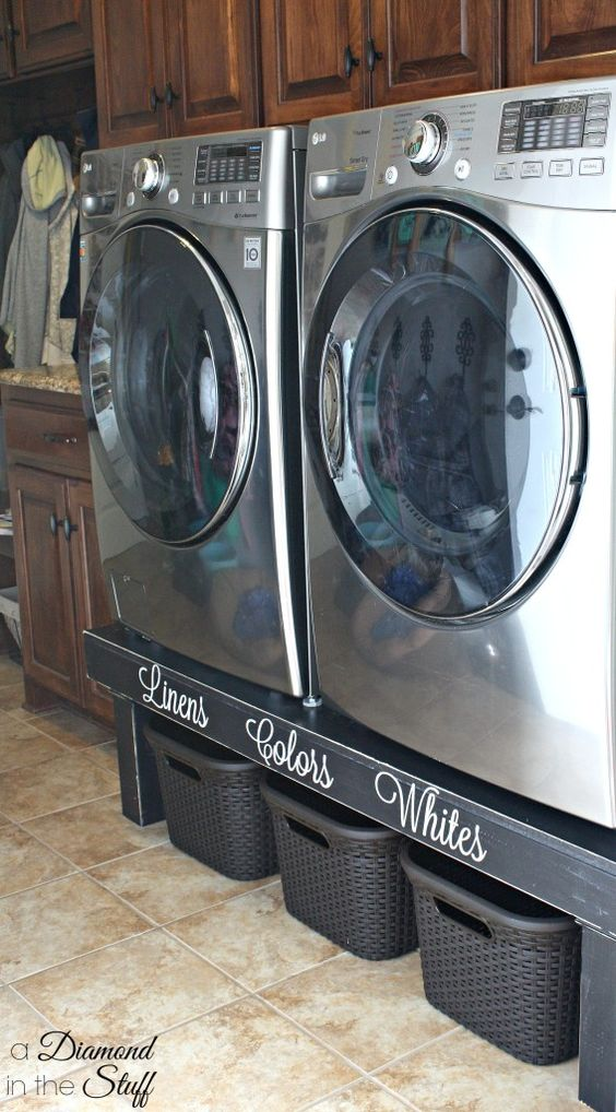 2 DIY Washer Dryer Pedestal By Adiamondinthestuff Simphome