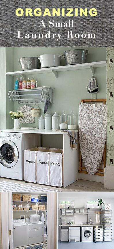 20 Organizing small laundry room by Decoratingyoursmallspace Simphome