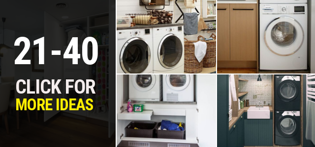 21 40 Small laundry room ideas Thumbnail