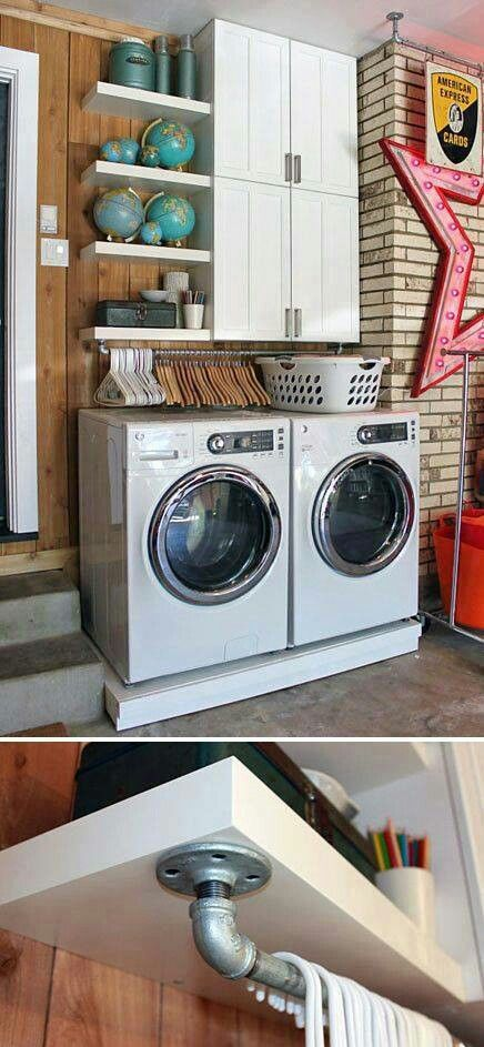 22 Creative laundry room ideas by Unknown Simphome