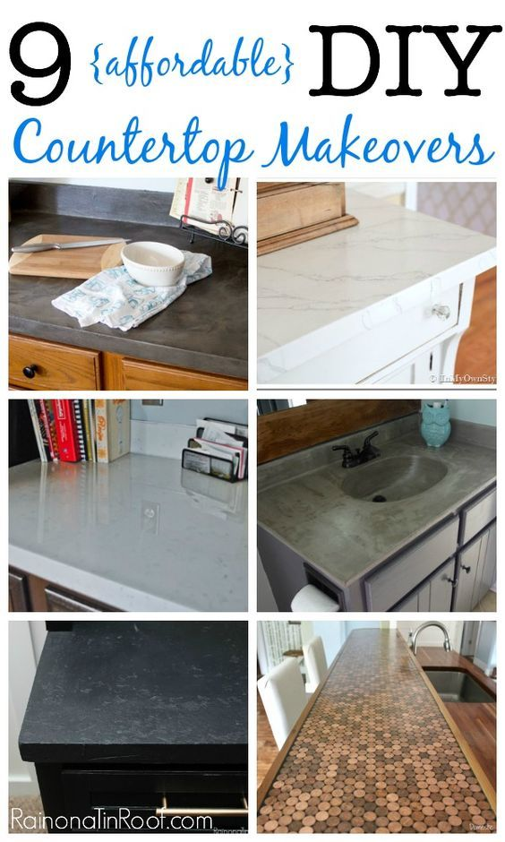 23 Nine affordable DIY countertops Simphome