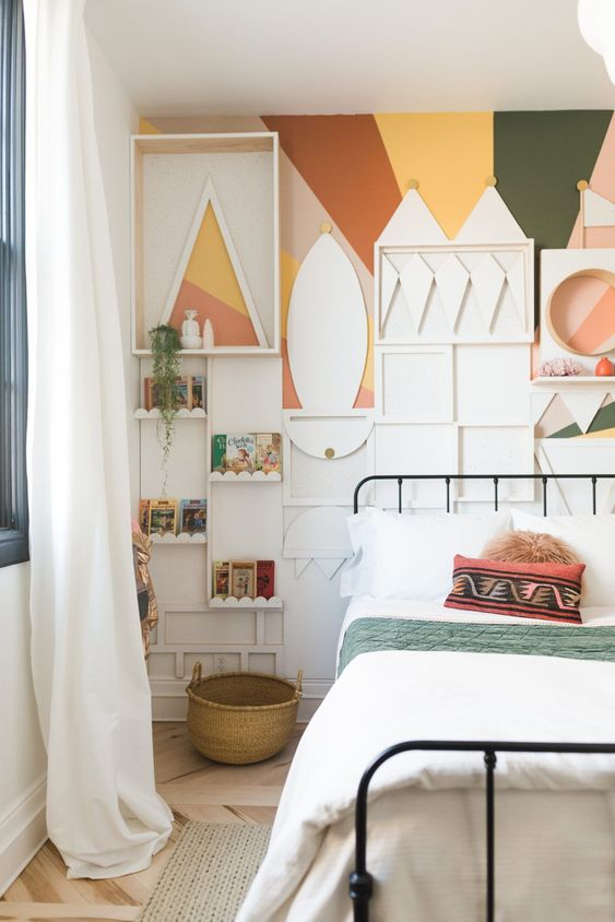 23 Small bedroom makeover Vintage Revivals Simphome