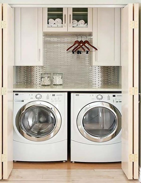 28 Amazingly Inspiring Small Laundry room design ideas by Onekindesign Simphome