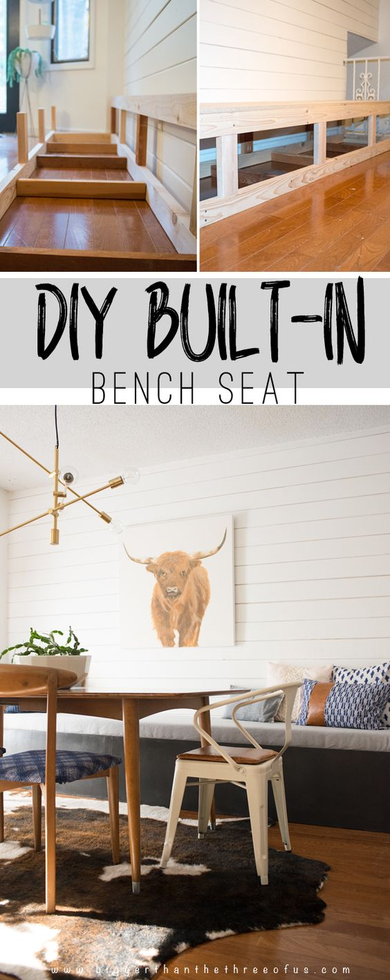 29 DIY Built in Banquette tutorial Simphome