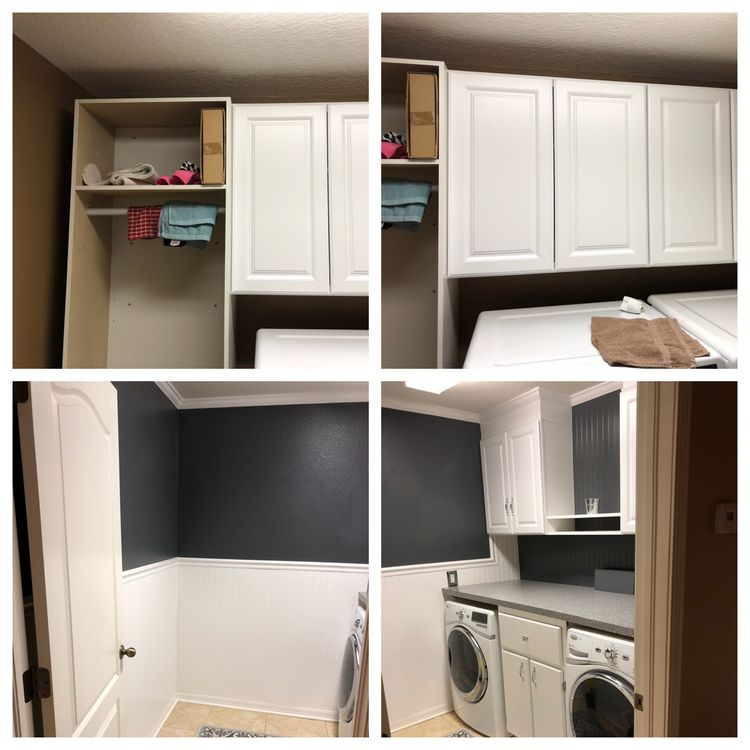 32 Laundry makeover idea before and after by Rodney Brown Simphome