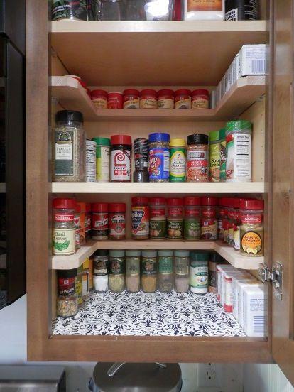 34 DIY spice shelves Simphome