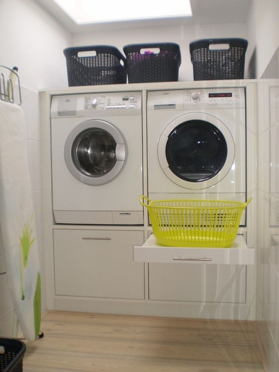 35 De standaard wasmachinekast ingebouwd Pinned Wouter Stern Simphome