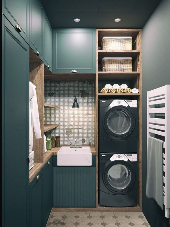 37 Inspiring Laundry room layout by Decomg Simphome
