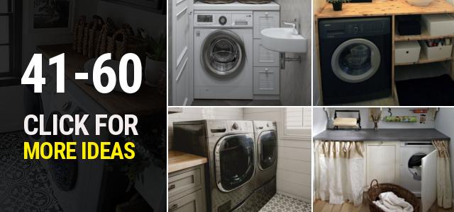 41 60 Small laundry room ideas Thumbnail