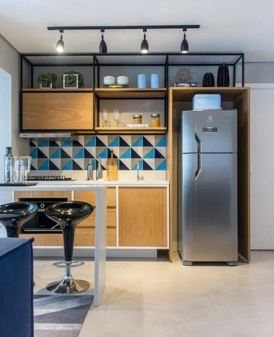 45 Fully integrated kitchen Simphome