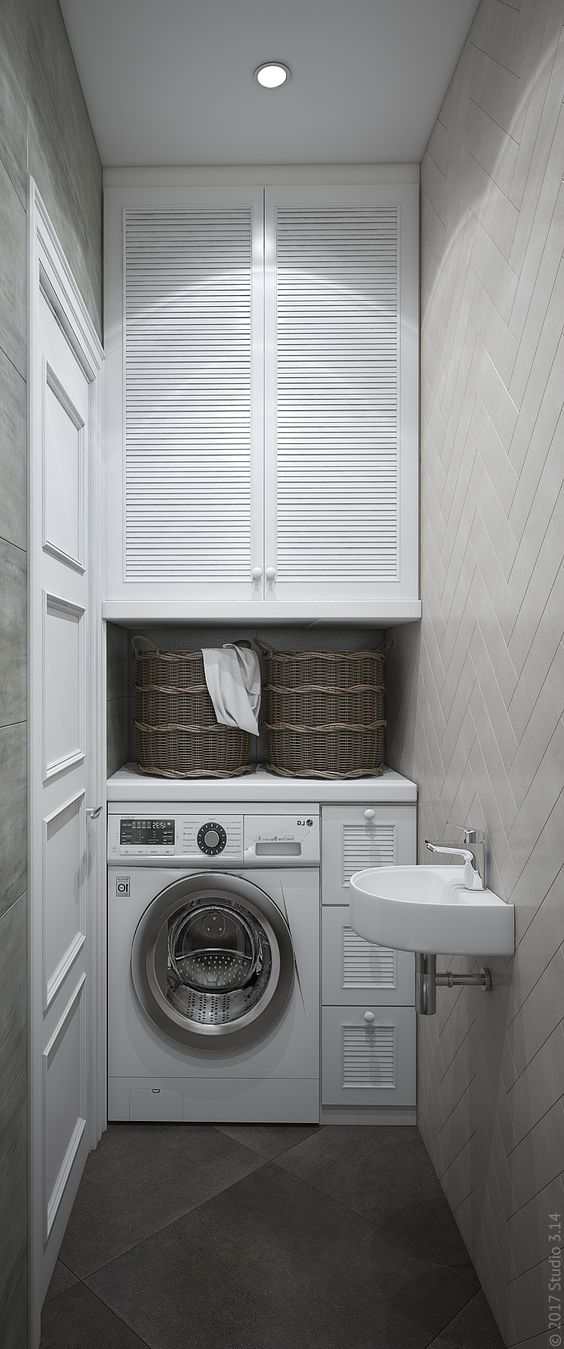 45 Washer installed in the extra bathroom by Studio3 14 Simphome