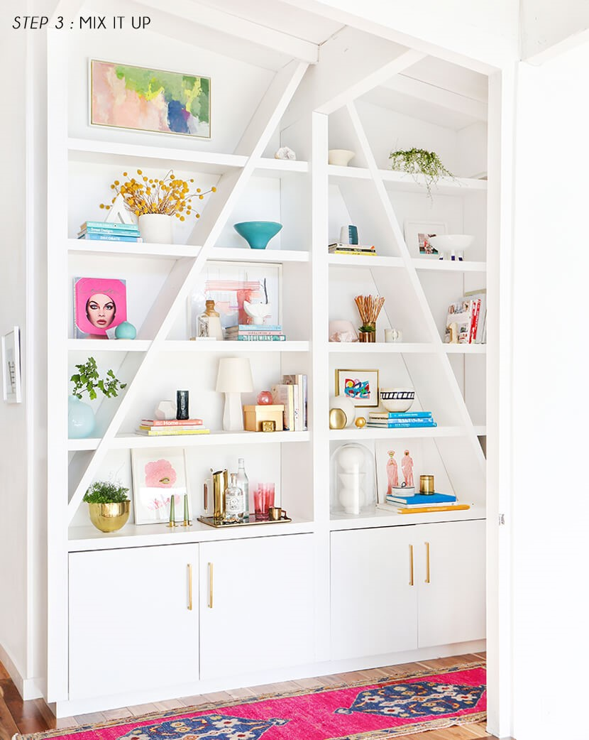 5 Dress Up Your Shelves Simphome com