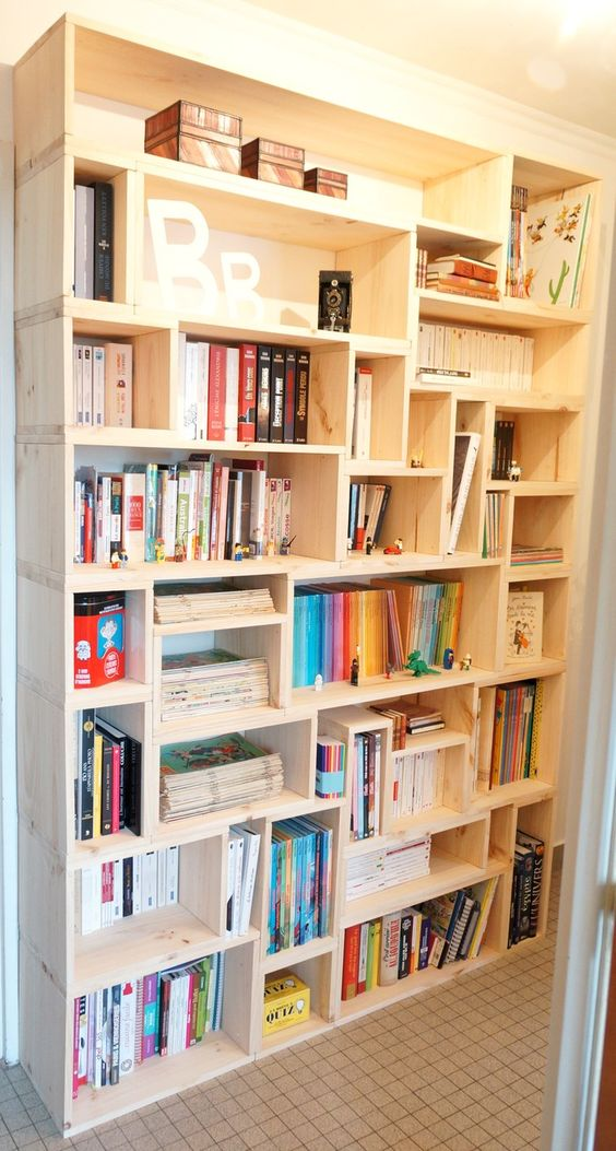 5 Make a custom wood bookcase simphome