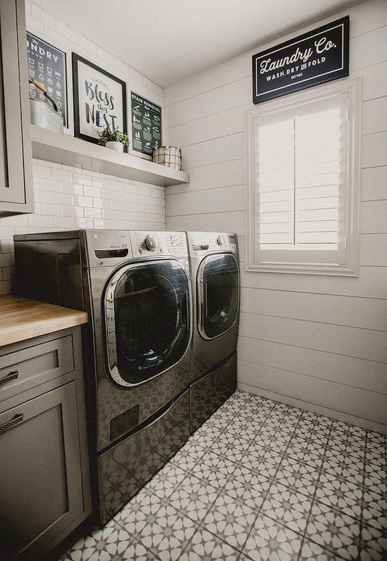50 55 Farmhouse Style Laundry Room Makeover Ideas by Aeoliadecor Simphome
