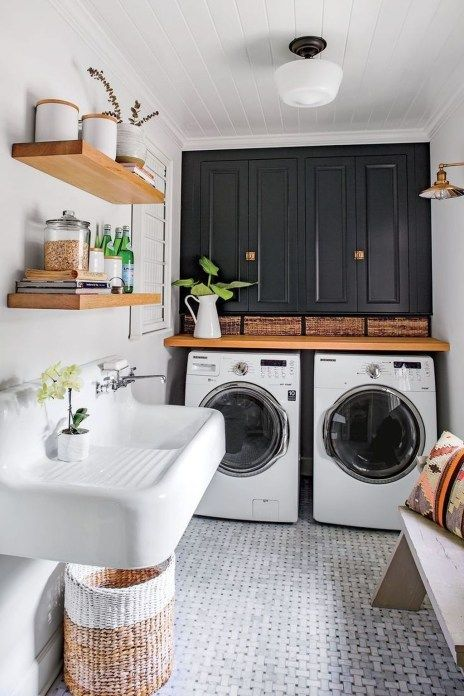 53 Brilliant Small Laundry Room Decorating Ideas To Inspire You by Trendhmdcr Simphome
