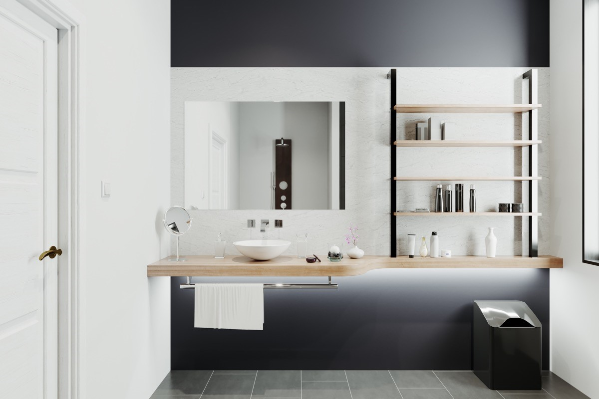 6 Modern bathroom vanity Simphome com