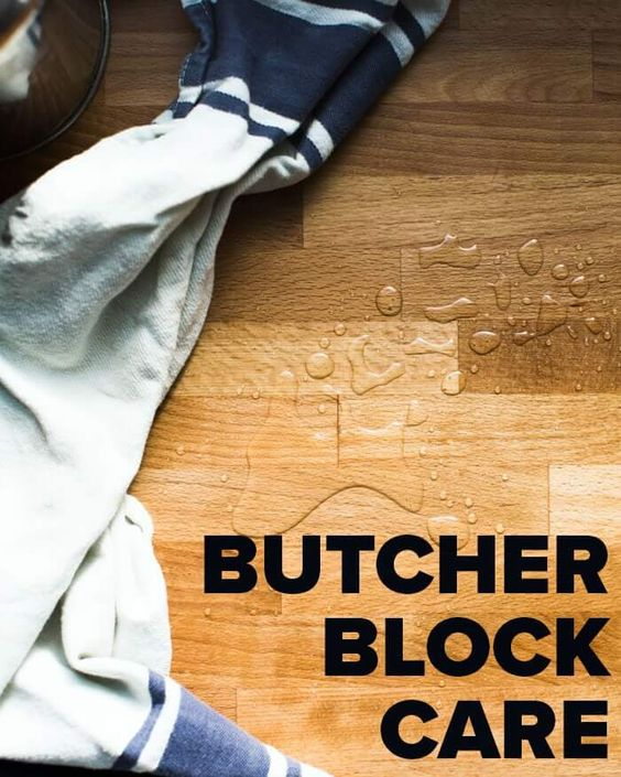 6 Step by step instructions on how to take care of butcher block countertops Simphome