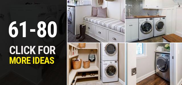 61 80 Small laundry room ideas Thumbnail