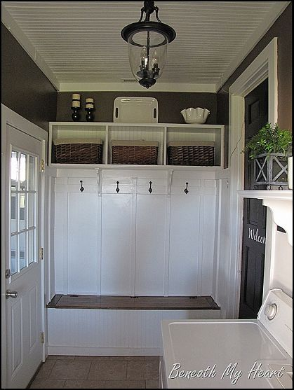 63 Adding a mudroom to a garage by Hometalk Simphome