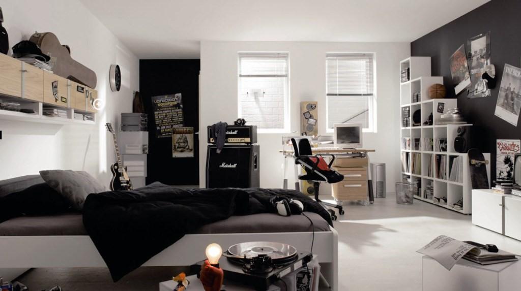 7 Black and White Bedroom for Boys Simphome com