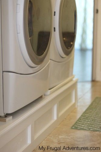 7 How to Build a Washer and Dryer Pedestal Simphome com
