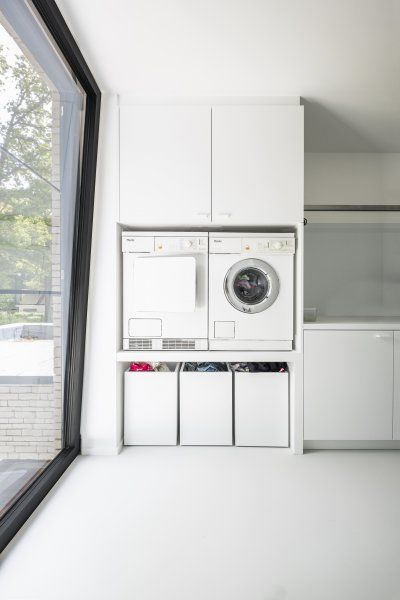 78 Less modern Laundry machine set and room Simphome