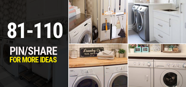81 110 Small laundry room ideas Thumbnail Closing